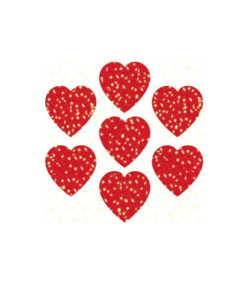 Carson-Dellosa Hearts, Red Dazzle™ Stickers Teacher