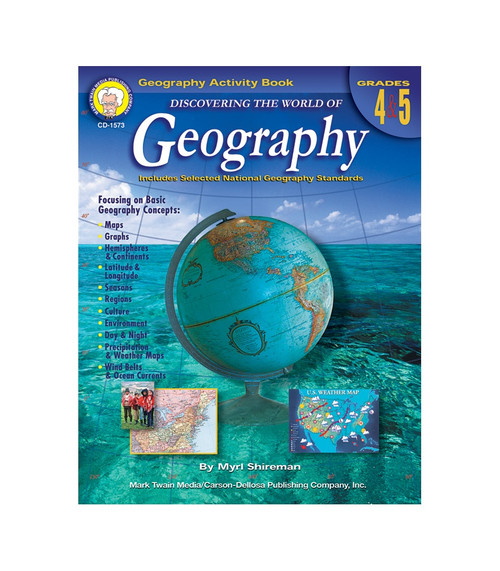 Mark Twain Discovering the World of Geography, Grades 4 - 5 Teacher