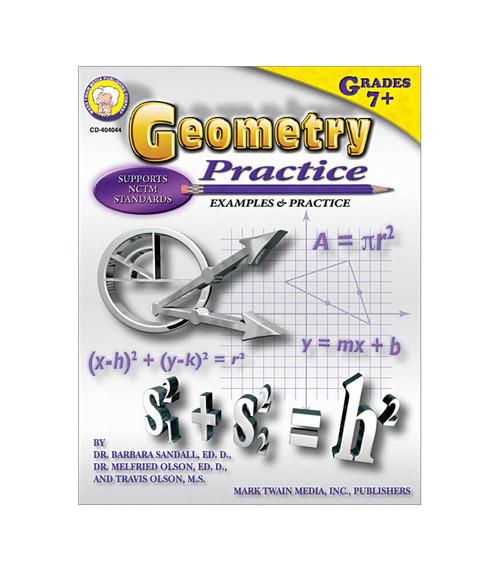 Mark Twain Geometry Practice Book, Grades 7 - 8 Teacher