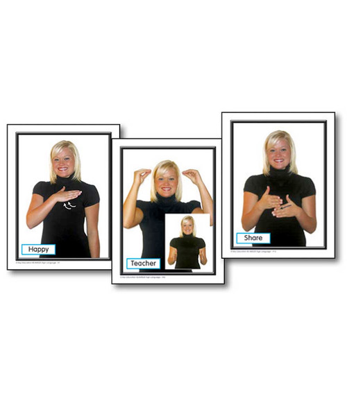 Key Education Publishing® Sign Language in the Early Childhood Classroom Learning Cards Teacher