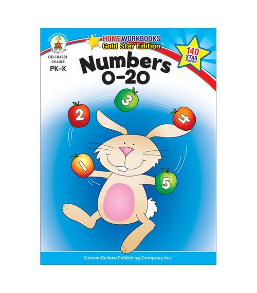 Carson-Dellosa Numbers 0-20, Grades PK - K Parent