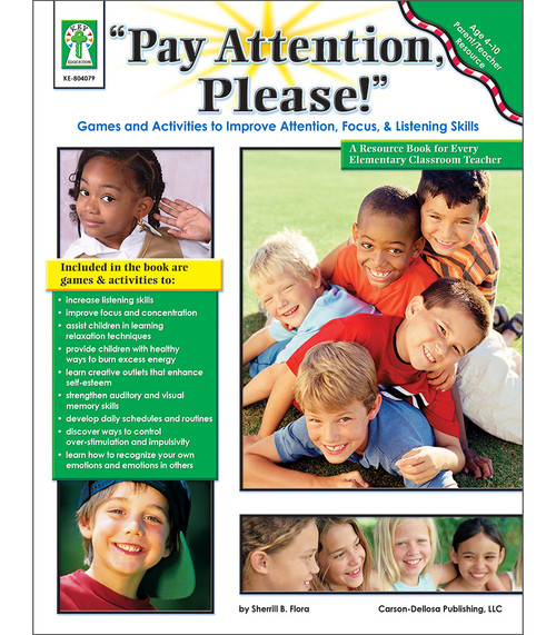 """Key Education Publishing® """"Pay Attention, Please!"""", Ages 4 - 11 Teacher"""