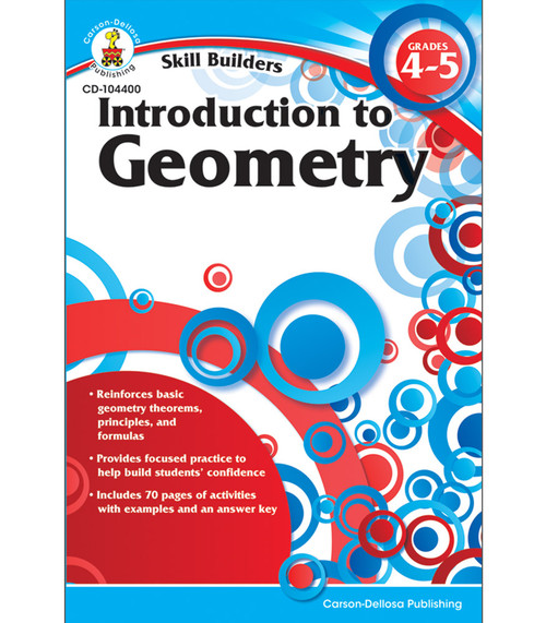 Carson-Dellosa Introduction to Geometry, Grades 4 - 5 Parent