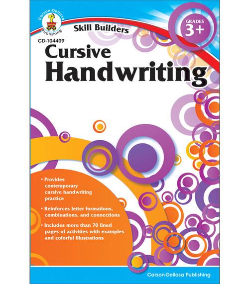 Carson-Dellosa Cursive Handwriting, Grades 3 - 5 Parent