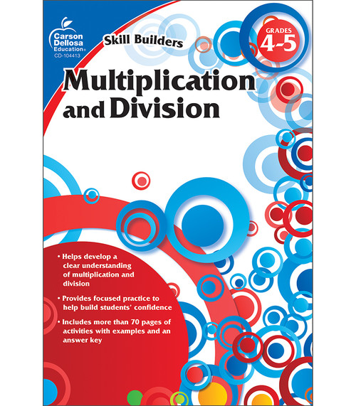 Carson-Dellosa Multiplication and Division, Grades 4 - 5 Parent