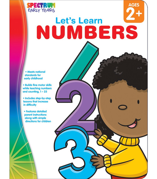 Spectrum® Let's Learn Numbers, Ages 2 - 5 Parent