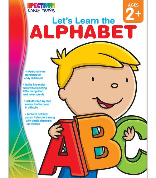 Spectrum® Let's Learn the Alphabet, Ages 2 - 5 Parent