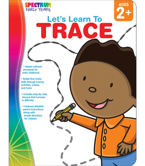 Spectrum® Let's Learn to Trace, Ages 2 - 5 Parent