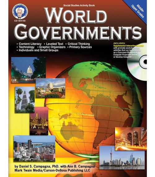 Mark Twain World Governments, Grades 6 - 12 Teacher