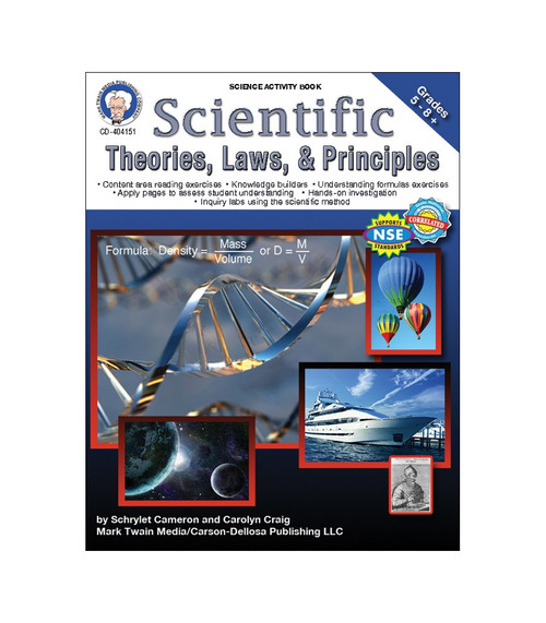 Mark Twain Scientific Theories, Laws, and Principles, Grades 5 - 12 Teacher