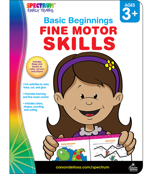 Spectrum® Fine Motor Skills, Ages 3 - 6 Parent