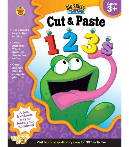 Brighter Child® Cut & Paste 123s, Ages 3 - 5 Parent