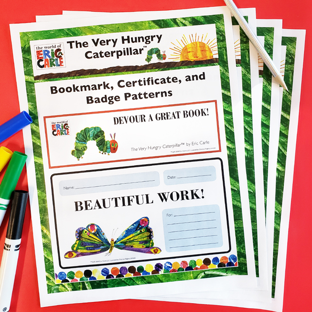 World of Eric Carle™ Printables