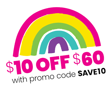 $10 OFF $60 with code SAVE10