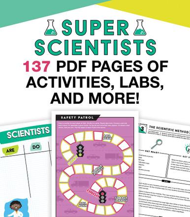 In a Flash: Super Scientist Grades K-5 Free Printable
