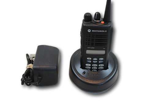 Motorola HT1250 UHF (403-470MHz) Portable Radio (Full Keypad)