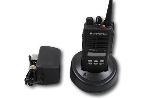 Motorola HT1250 LS+ UHF (450-512MHz) 32 Ch Portable Radio