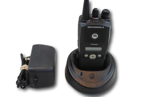 Motorola PR400 UHF (403-470MHz) Portable Radio w/Ltd. Keypad (LTR)