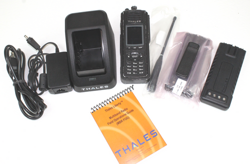 THALES PRC-7332 Liberty Multiband (VHF, UHF, 700 & 800Mhz) P25 FPP GOOD CONDITION