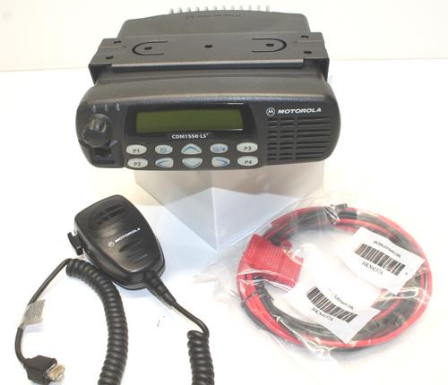 Motorola CDM1550 LS+ VHF (136-174MHz) 160ch Mobile Radio (45W)