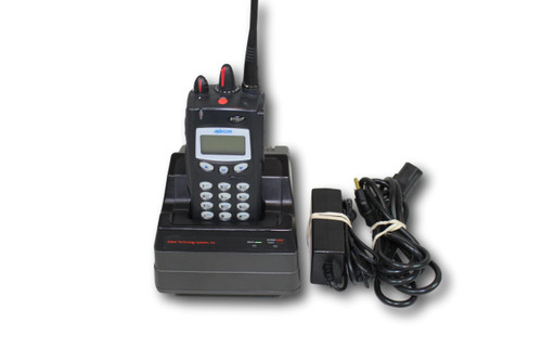 Harris M/A-Com P7100IP 800MHz Full Keypad Portable Radio (EDACS/P25)