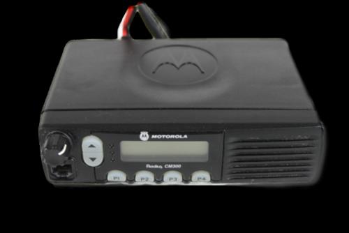 Motorola CM300 UHF (438-470MHz) Mobile Radio (40W)