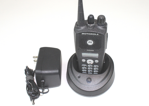 Motorola PR400 UHF (403-470MHz) Portable Radio w/Full Keypad (LTR)