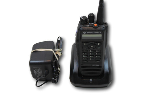 Motorola MOTOTRBO XPR6580 800/900MHz Portable Radio CONNECT PLUS (DIGITAL)