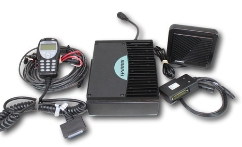 Harris M/A-Com XG-75M 700/800MHz Mobile Radio w/Hand-Held Controller