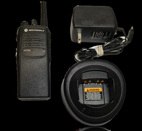 Motorola HT750 VHF (136-174MHz) Portable Radio (4ch)