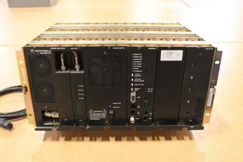 Motorola Quantar UHF (438-470MHz) Repeater (100W) SILVER CHASSIS