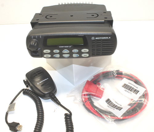 Motorola CDM1550 LS+ UHF (403-470MHz) 16ch Mobile Radio (25W)