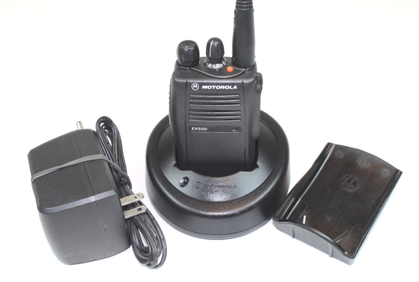 Motorola EX500 UHF (450-512MHz) Portable Radio