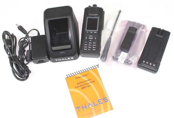 THALES PRC-7332 Liberty Multiband (VHF, UHF, 700 & 800Mhz) P25 FPP GREAT CONDITION