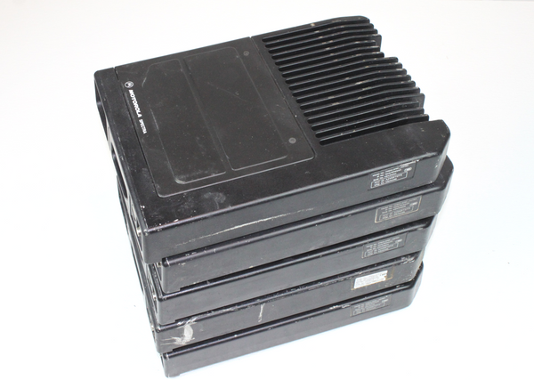 Lot of 5 Motorola Astro Spectra VHF 110 Watts 128 Ch 136-162 Mhz W5 Radios HAM
