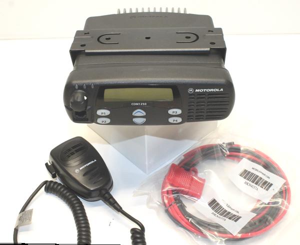 Motorola CDM1250 UHF (403-470MHz) Mobile Radio (40W)