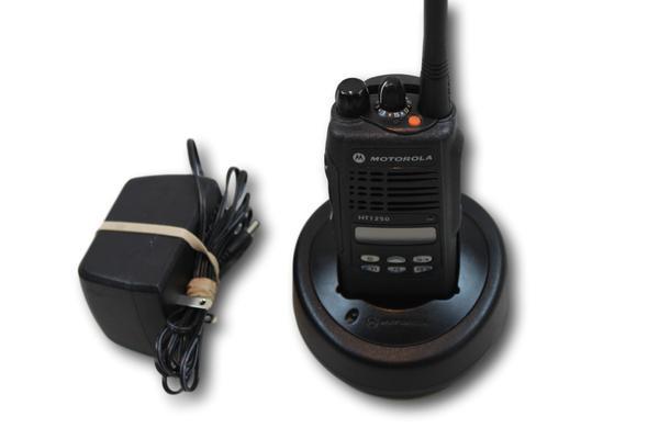 Motorola HT1250 UHF (403-470MHz) Portable Radio (Ltd Keypad)