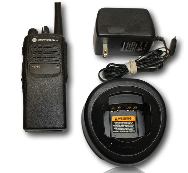 Motorola HT750 UHF (450-512MHz) Portable Radio (4ch)