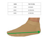 Organic Cotton Colours - 100% Natural Organic Cotton Hypoallergenic Unisex  Brown Ankle  Socks