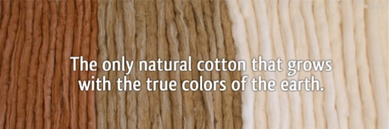 Organic ColorGrown Cotton