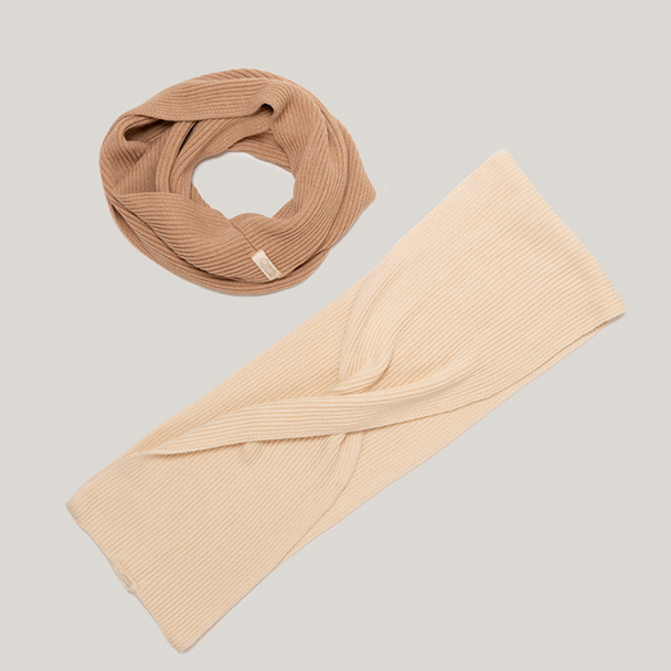 Soft natural 100% Organic Cotton Scarves