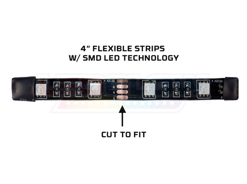 LEDGlow Advanced Million Color SMD LED Light Strip