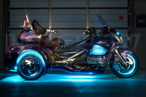Aqua LiteTrike Motorcycle LED Lights