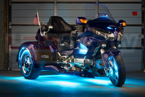 Aqua LiteTrike II Motorcycle LED Lighting Kit