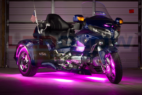 Pink LiteTrike II Motorcycle LED Lighting Kit