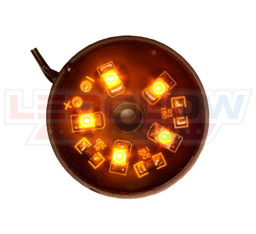 Orange Motorcycle Pod LED Lighting Kit