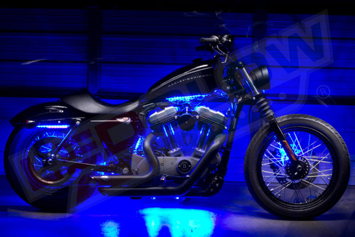 Blue SMD LED Mini Motorcycle Underglow Lights