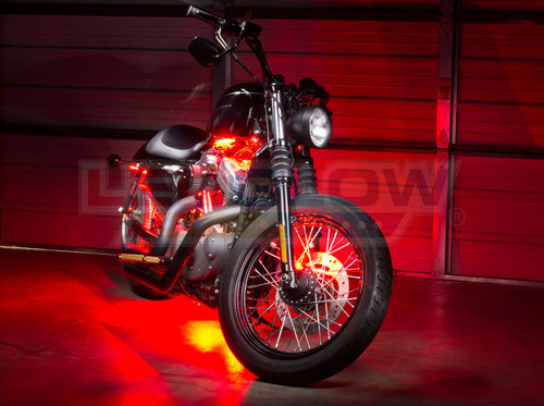Red SMD LED Motorcycle Underglow Lights
