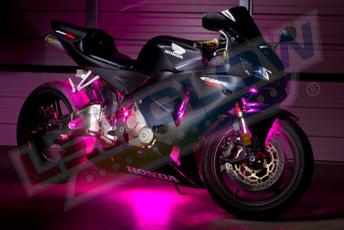 LEDGlow Advanced Pink SMD LED Motorcycle Lighting Kit