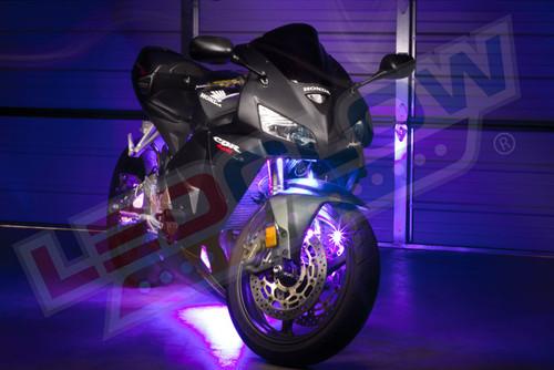 LEDGlow Advanced Purple SMD LED Motorcycle Lighting Kit